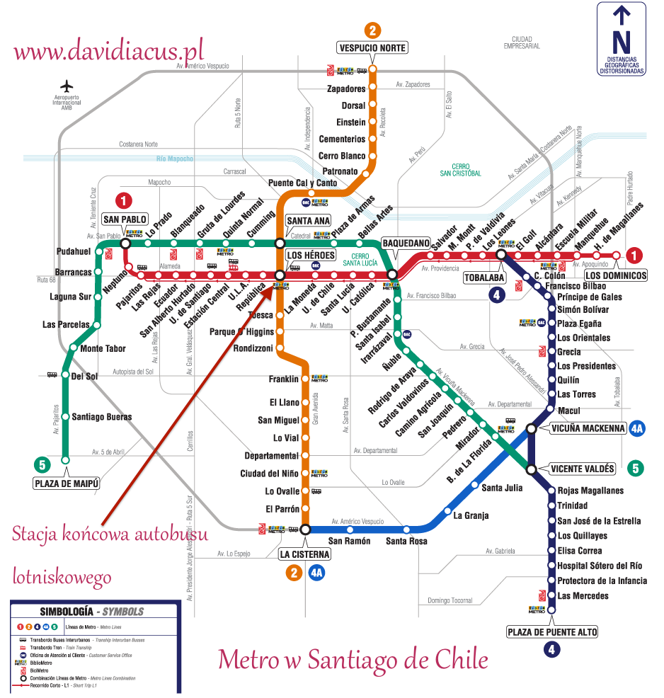 Metro Santiago de Chile