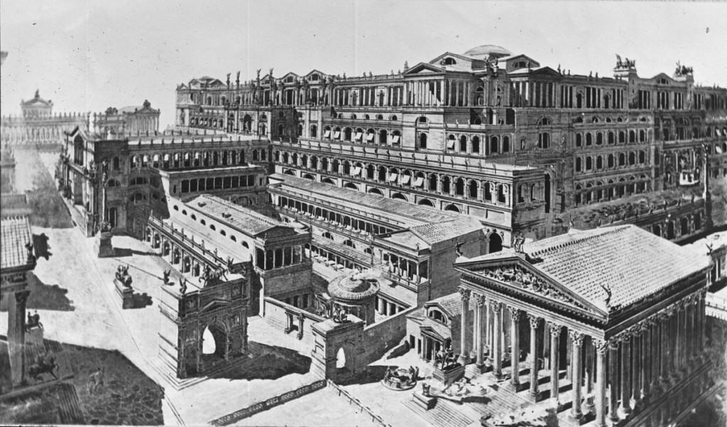 Forum Romanum rekonstrukcja